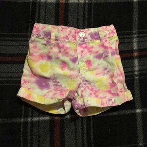 Garanimals Girls 3T Pink Tie Dye Shorts